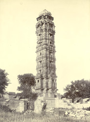 Kirthambh (the tower of Victory) on the Chittorgarh fort